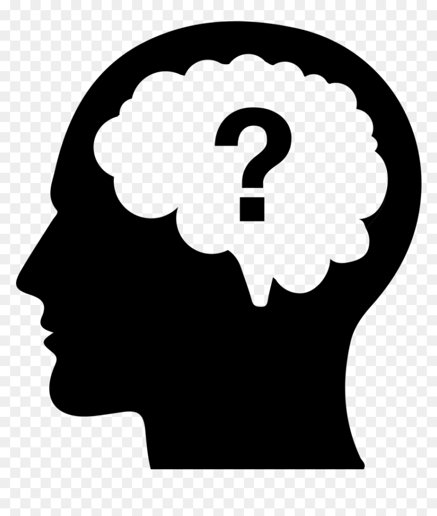 Head Question Mark Png Transparent Png Vhv