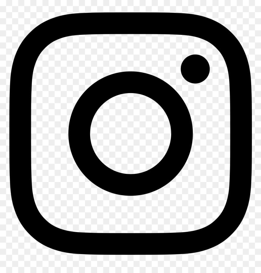 Instagram Logo Hitam Putih Hd Png Download Vhv