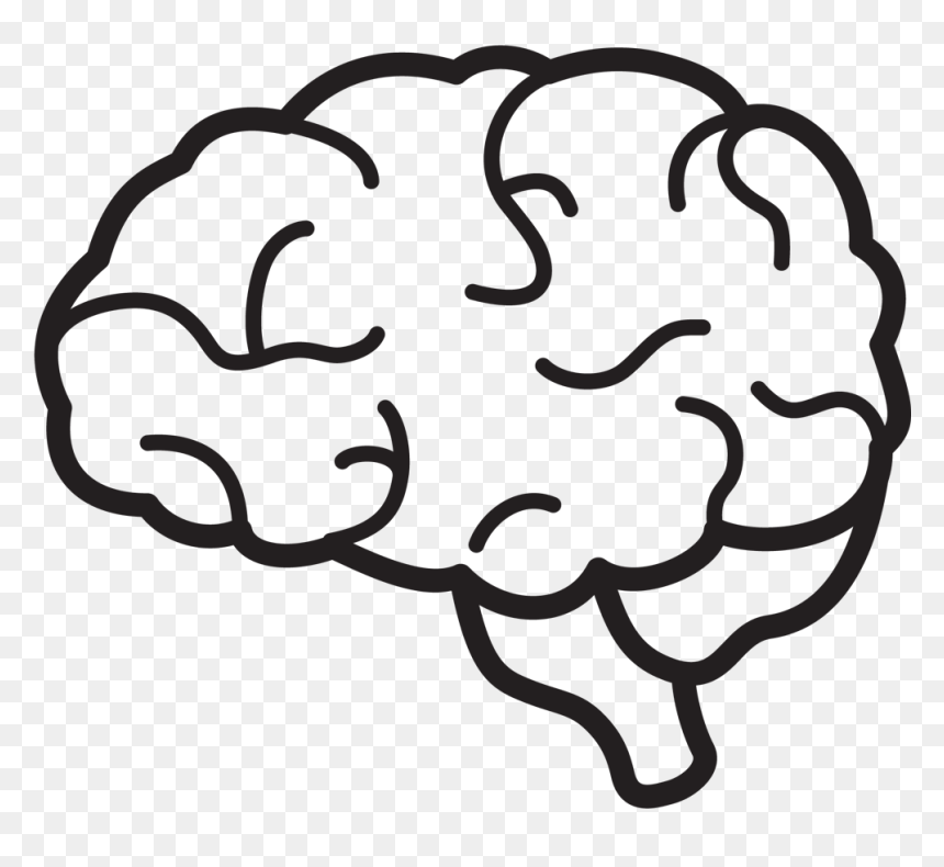 transparent brain clipart black and white hd png download vhv transparent brain clipart black and
