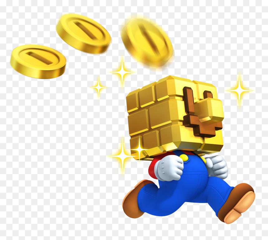 New Super Mario Bros 2 Gold Block Hd Png Download Vhv