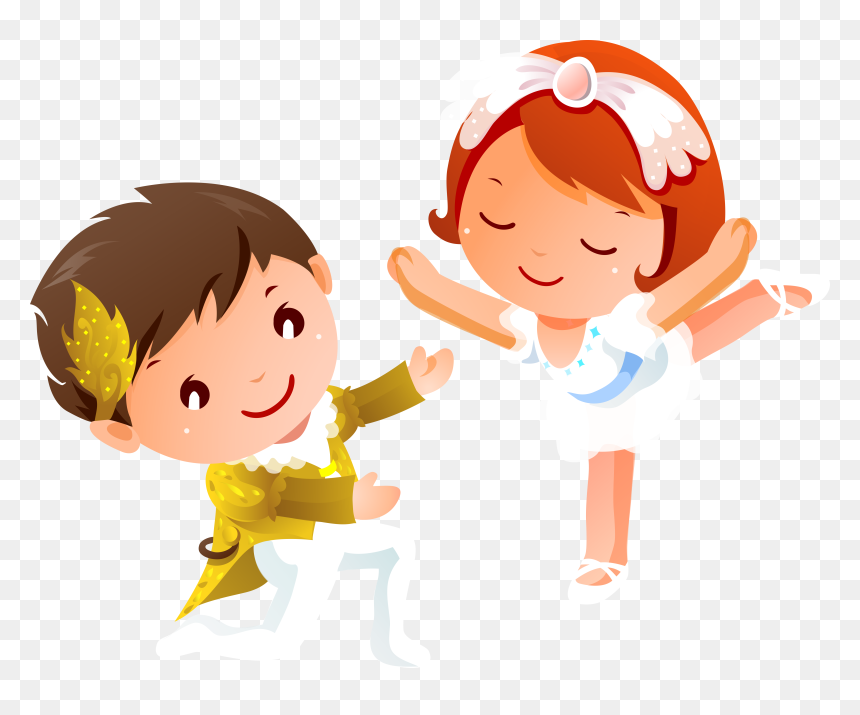 Dancing Kids Cartoon Images Png Transparent Png Vhv