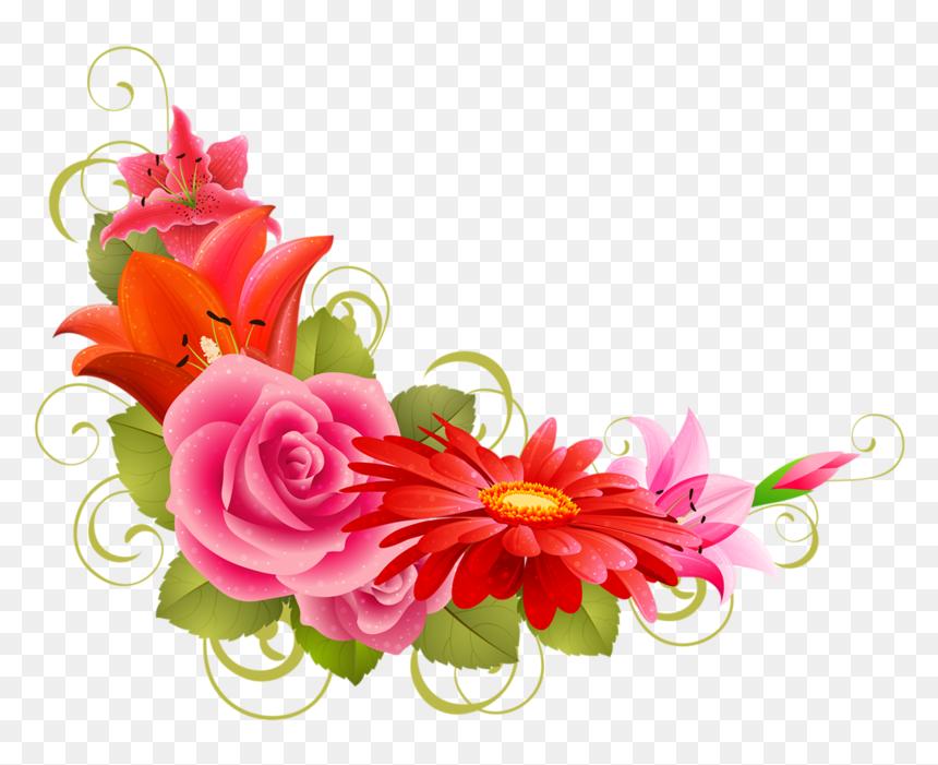 Wedding Cards Flowers Png Transparent Png Vhv