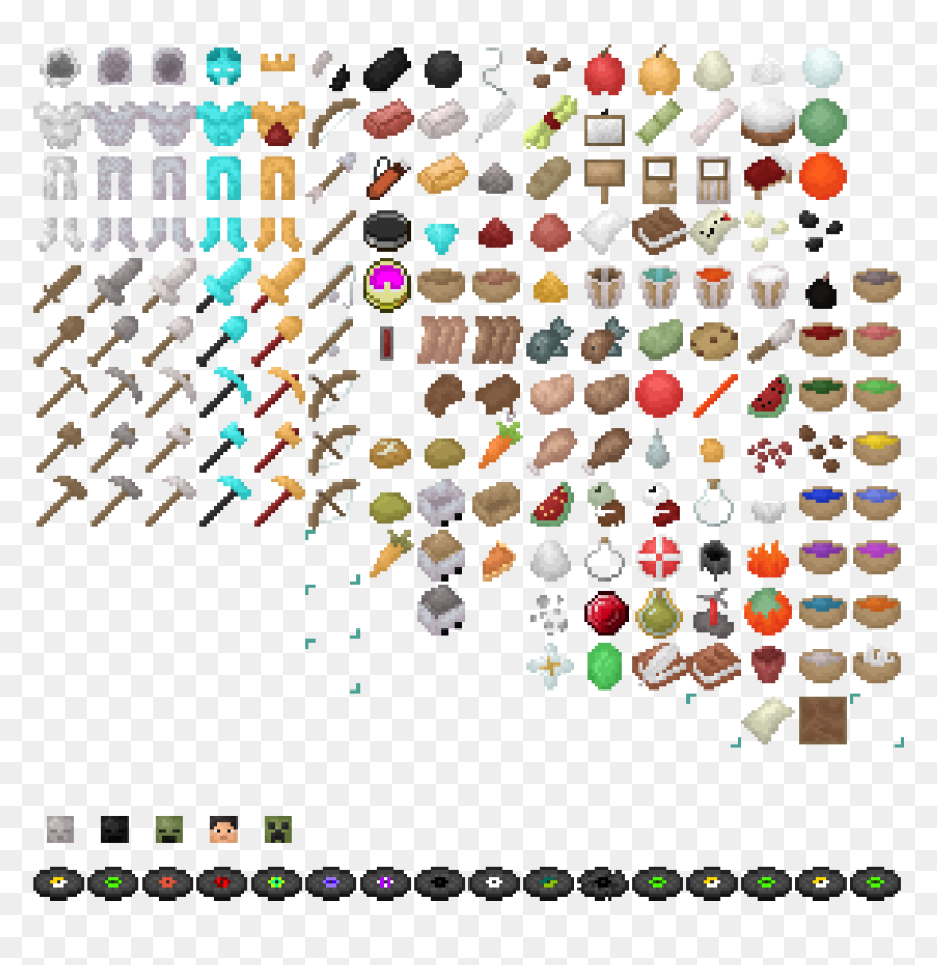 Minecraft Icon Download Minecraft Items Png Transparent Png Vhv