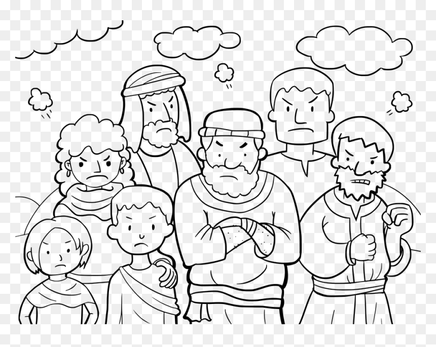 Moses And The Burning Bush Bible Coloring Book Child - Moses And ...   685x860