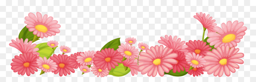 transparent april flowers clipart pink flower garden clipart hd png download vhv pink flower garden clipart hd png