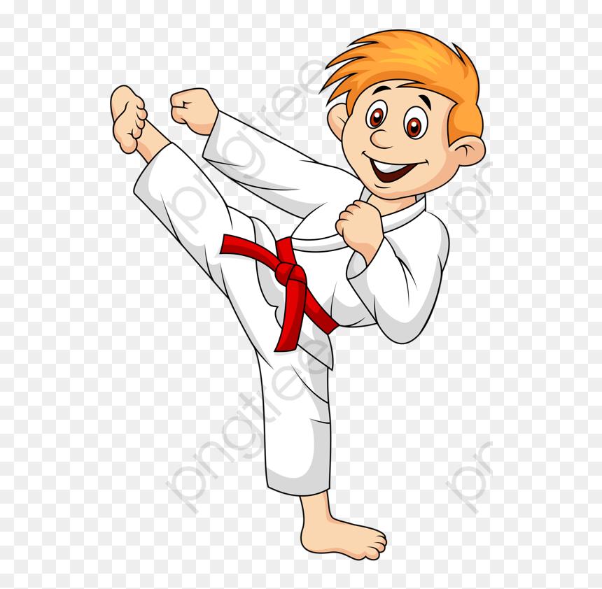Taekwondo Boy Kimono Png Karate Clipart Transparent Png Vhv