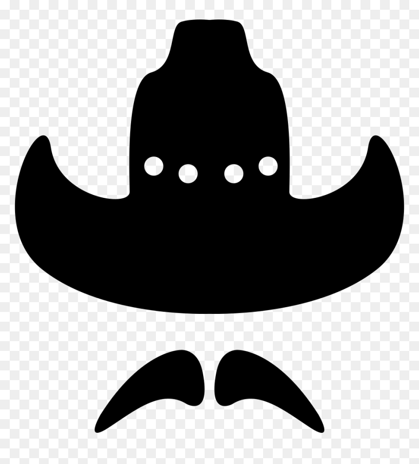 Cowboy Silhouette Facial Hair Clip Art Cowboy Hat And Mustache Png Transparent Png Vhv Black baseball cap png image clipart. cowboy silhouette facial hair clip art