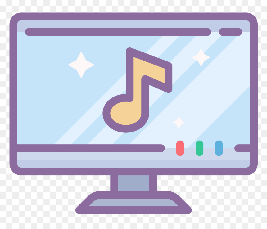 Transparent Music Video Icon Png Music Video Png Icon Png Download Vhv