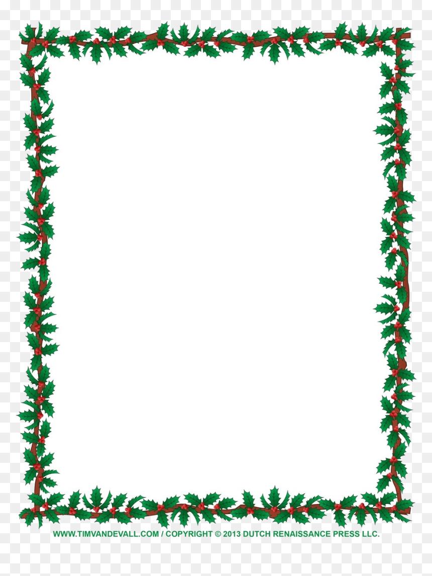 Christmas Border Clip Art Borders For Word Documents Clip Art Christmas Border Hd Png Download Vhv
