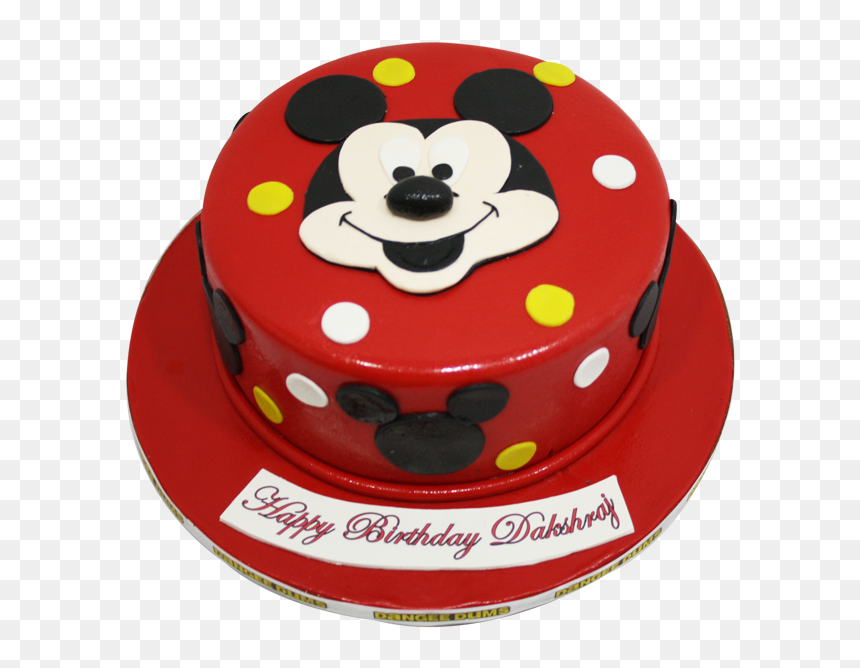 Mickey Mouse Boys Cake Design Hd Png Download Vhv