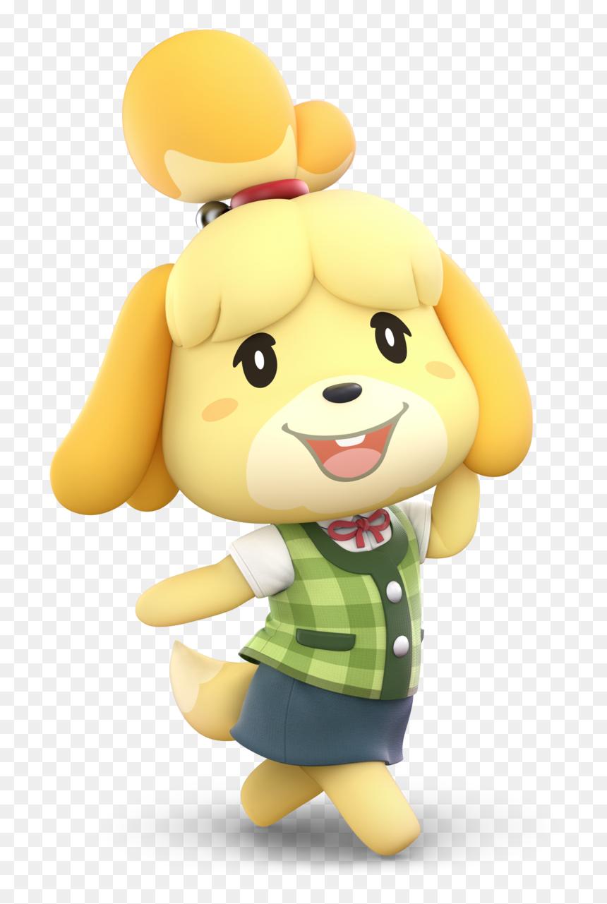 Isabelle Animal Crossing Smash Hd Png Download Vhv