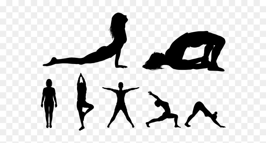 Yoga Poses Transparent Background Hd Png Download Vhv