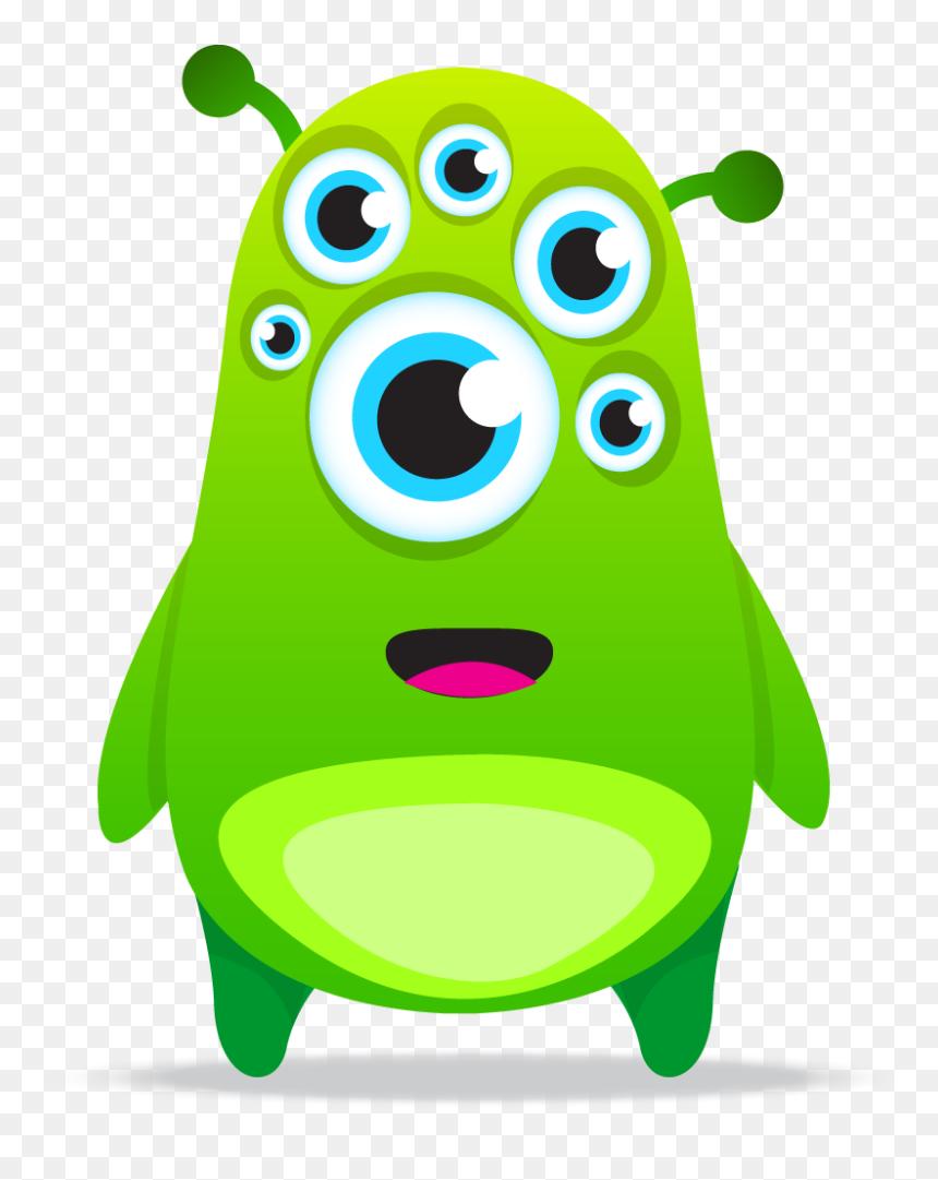 Classdojo Monster Class Dojo Green Avatar Hd Png Download Vhv