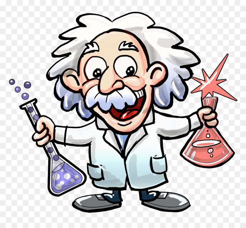 Easy Cartoon Albert Einstein