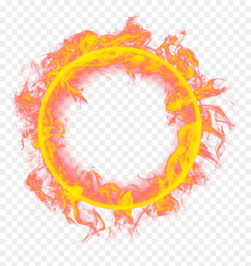 Frame Flames Transparent Fire Ring Png Png Download Vhv
