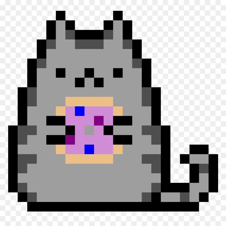 The Pusheen Cat Holding A Dounut Pusheen Pixel Art Grid Hd Png Download Vhv Computer icons gif pixel art, pug png. pusheen pixel art grid hd png download