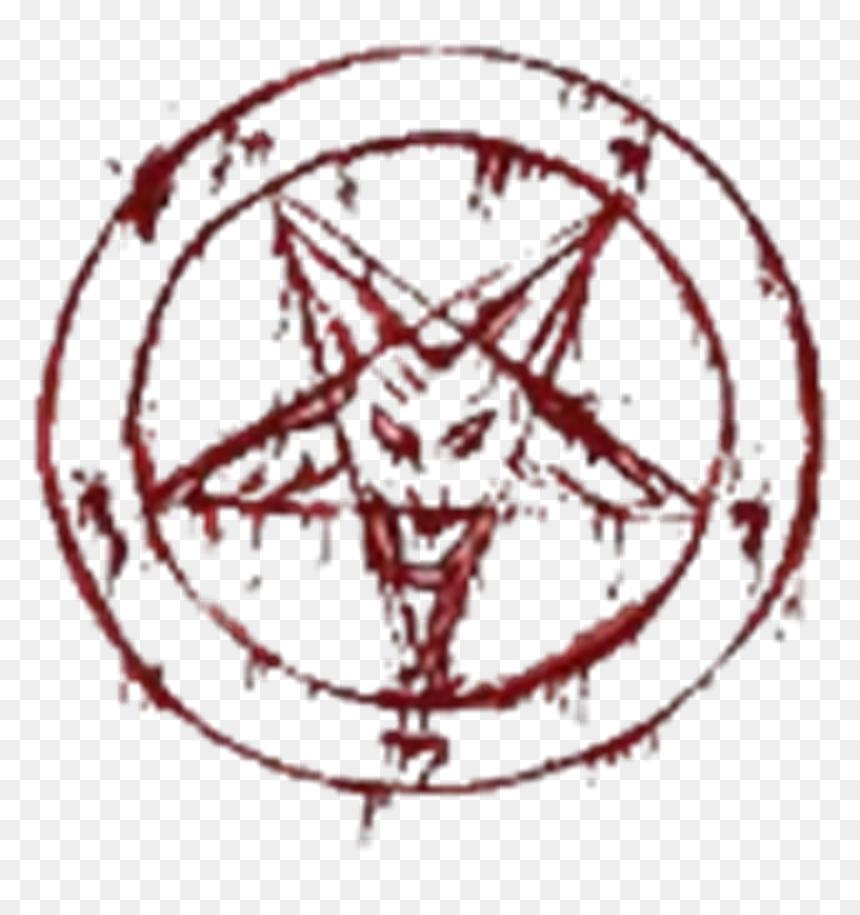 Red Devil Satan Pentagram 666 Blood Bloody Lucifer T Shirt