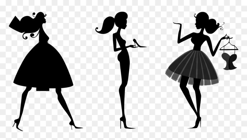 Fashion Silhouette Fashion Design Transparent Background Transparent Background Dress Clipart Png Png Download Vhv