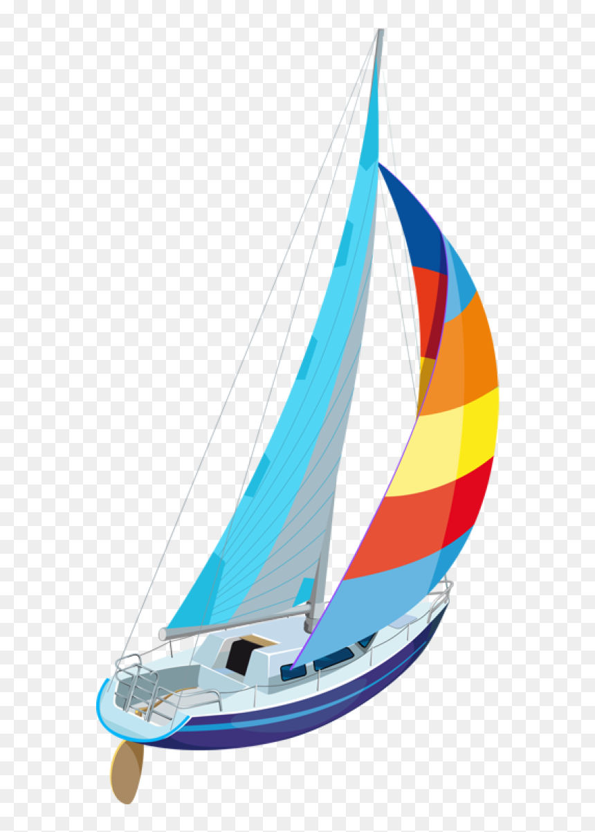 Sailboat Clip Art And Transparent Background Sail Boats Clipart Hd Png Download Vhv