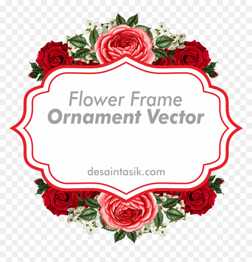 hd frame flower ornament vector frame bunga png transparent png vhv vector frame bunga png transparent png