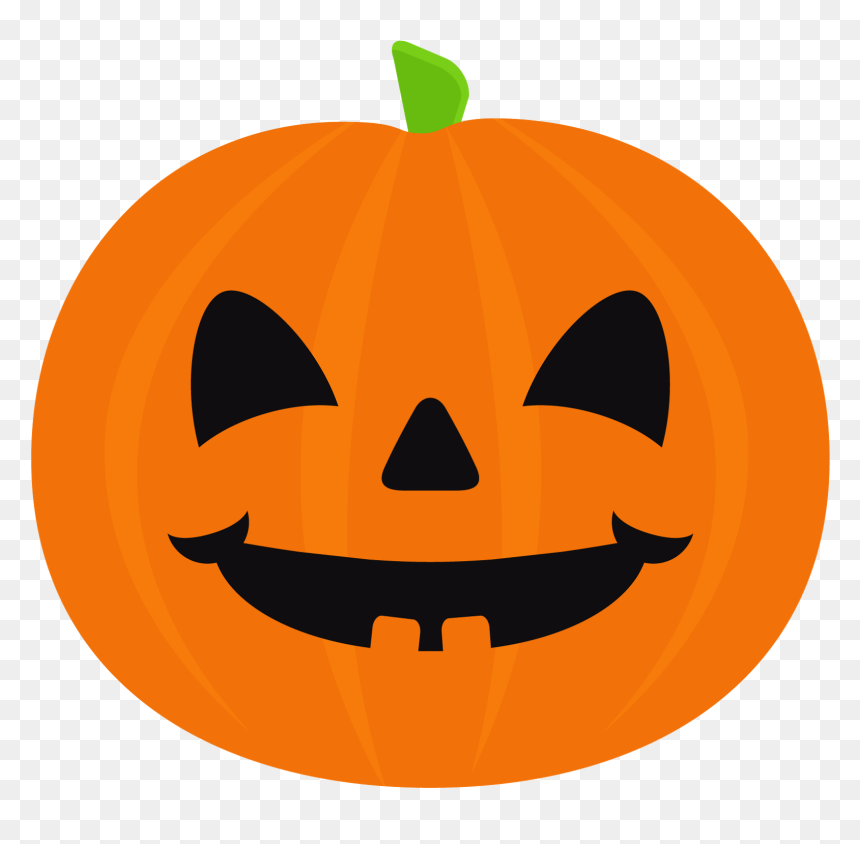 Transparent Cute Pumpkin Png Cute Halloween Pumpkin Cartoon Png Download Vhv