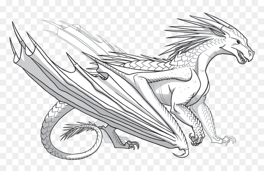 Wings Of Fire Coloring Pages Pattern