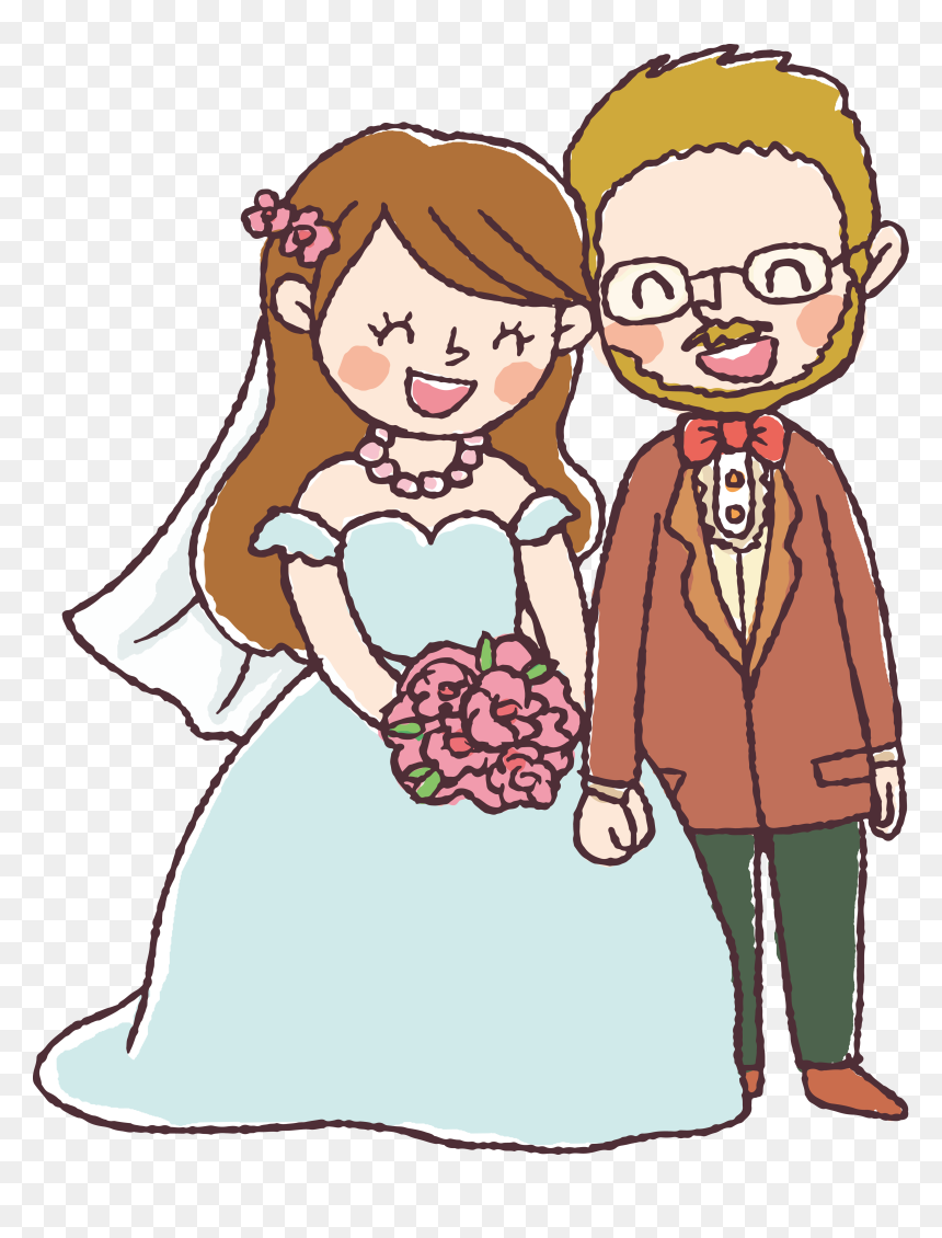 Transparent Happy Couple Clipart Marriage Drawing Hd Png Download Vhv