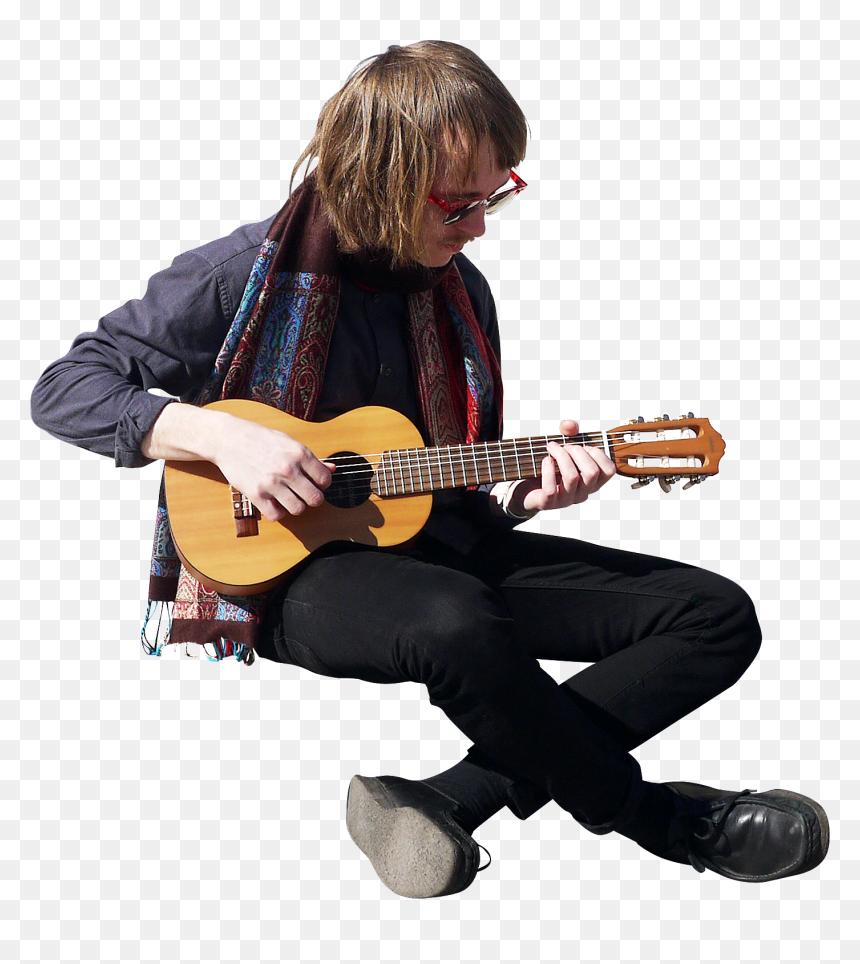 People Play Guitar Png Transparent Png Vhv
