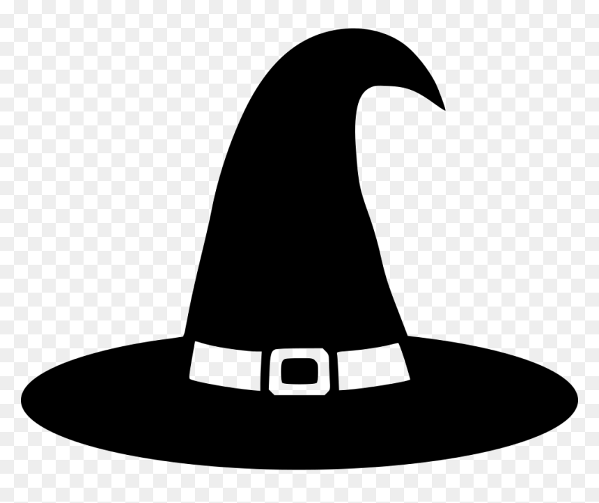 Witch Hat Svg Free Hd Png Download Vhv