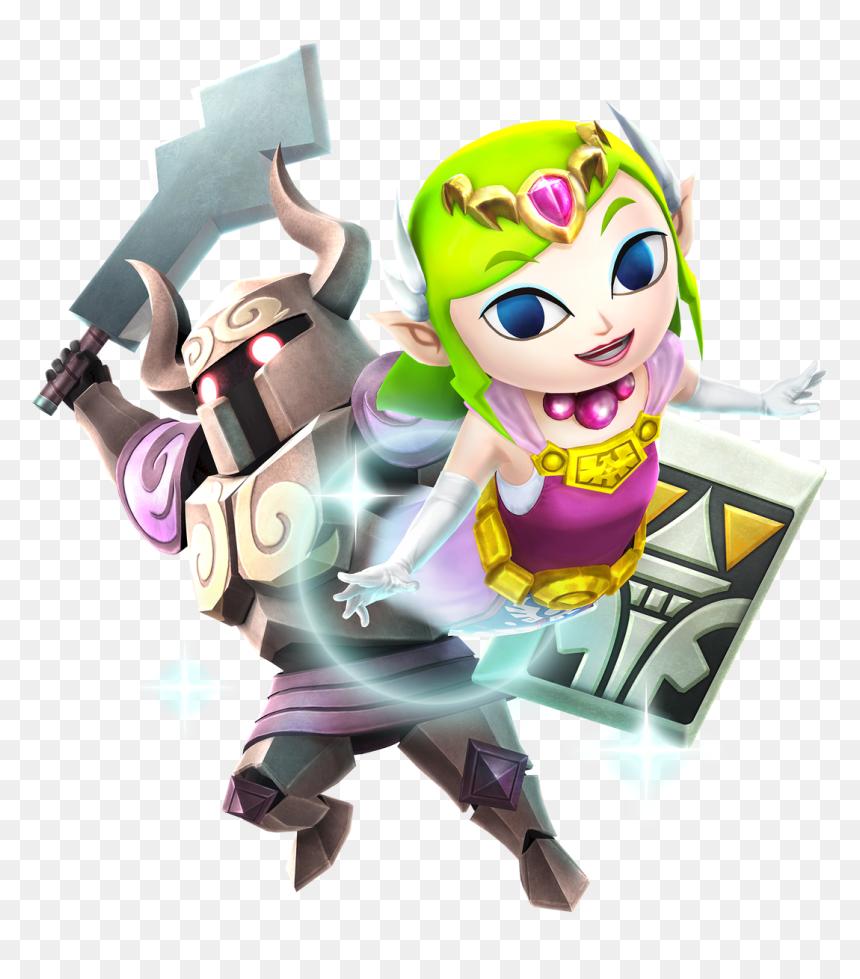 Toon Zelda Hyrule Warriors Hd Png Download Vhv
