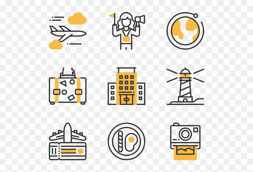 Travel Icon Vector Png Transparent Png Vhv