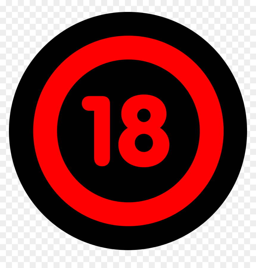 18 Icon Png, Transparent Png - vhv