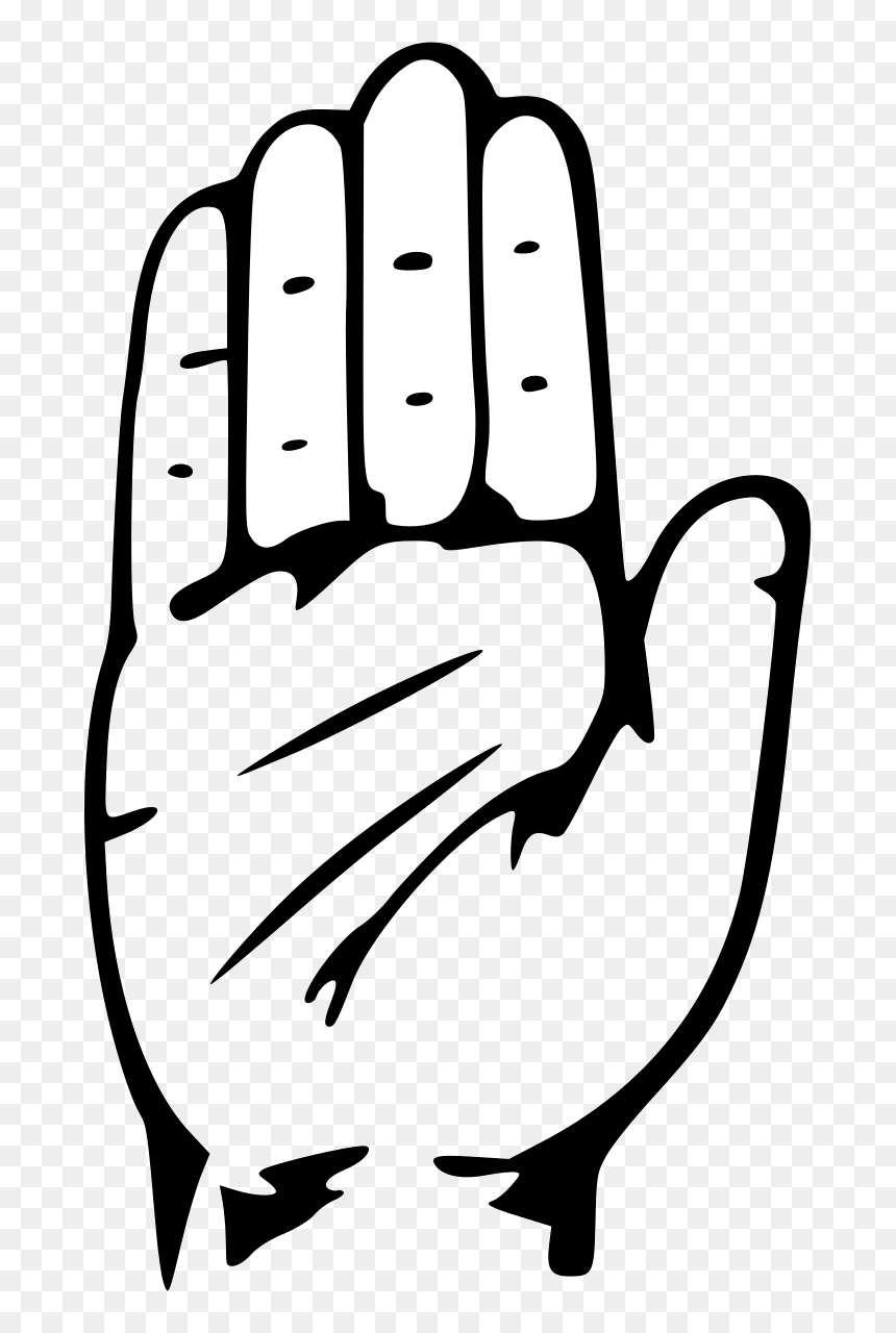Hand Black And White Waving Hands Clipart Transparent Indian National Congress Symbol Hd Png Download Vhv Facebook, speaker (don't include color names, only english). hand black and white waving hands