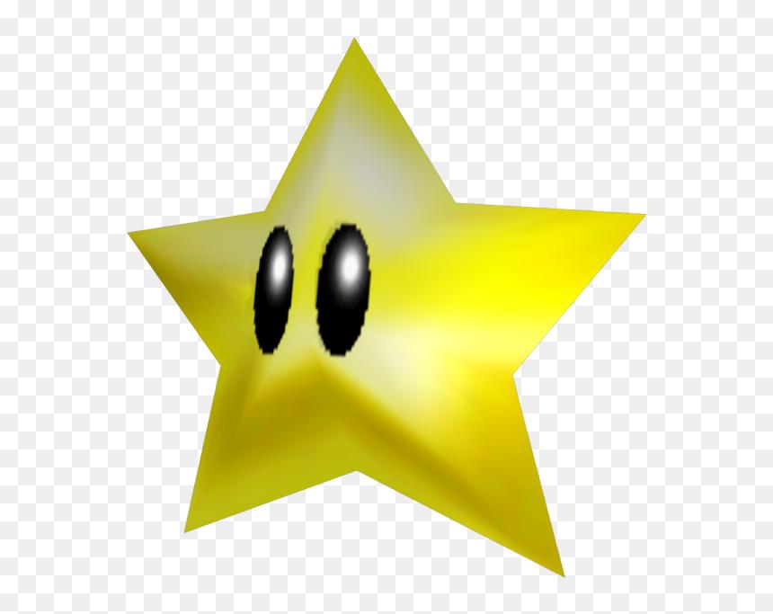 Download Zip Archive Super Mario 64 Star Transparent Hd Png Download Vhv