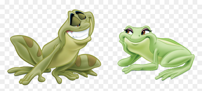 Princess And The Frog Tiana As A Frog Hd Png Download Vhv