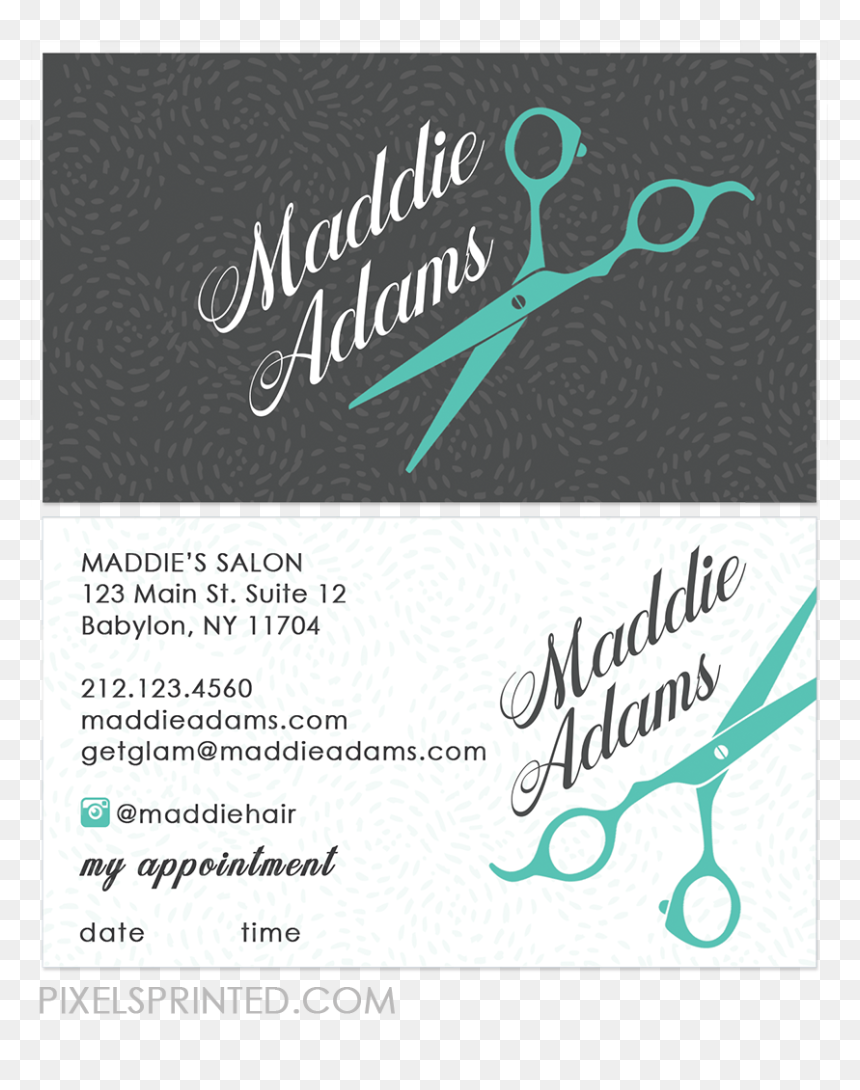 Hair Stylist Business Card Template from www.vhv.rs