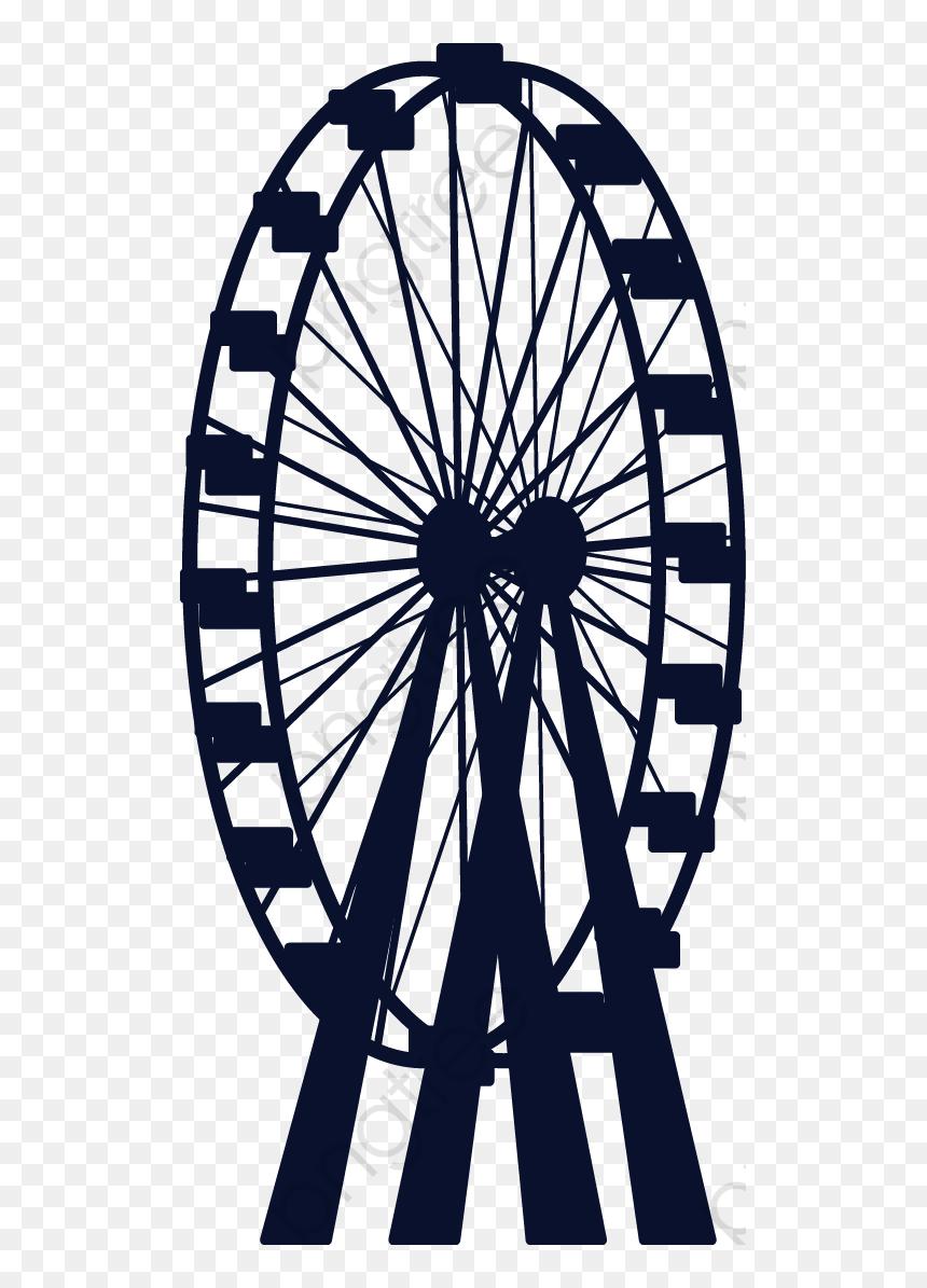 Ferris Wheel Transparent Ferris Wheel Vector Hd Png Download Vhv