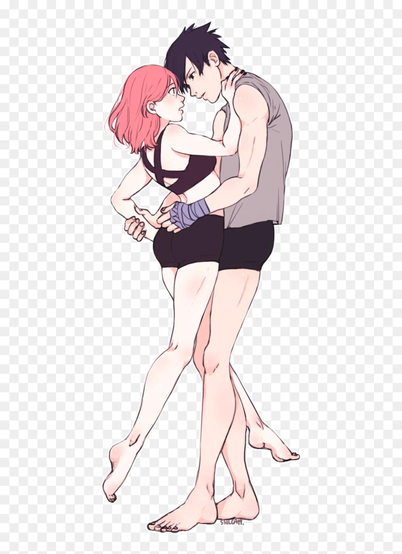 Kiss sakura sasuke and Sasuke and