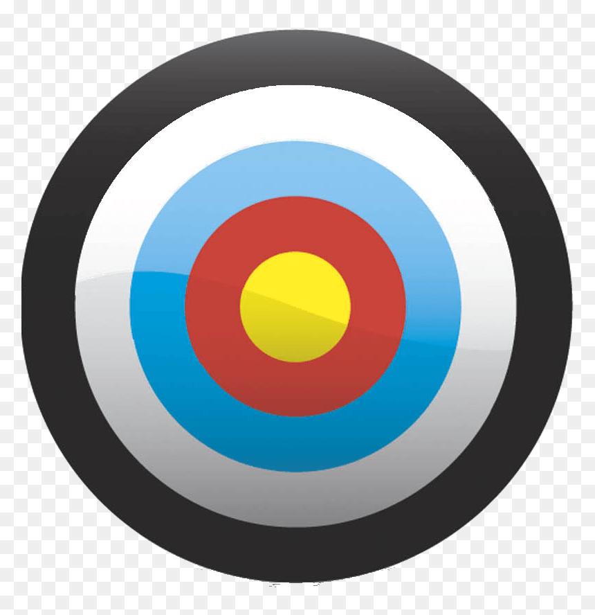 Bullseye Clipart Free Archery Target Transparent Background Hd Png Download Vhv