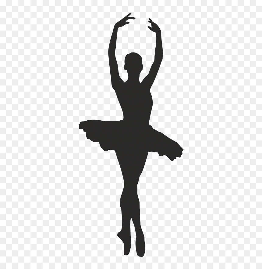 Ballet Dancer Silhouette Clip Art Dance Silhouette Ballet Hd Png Download Vhv