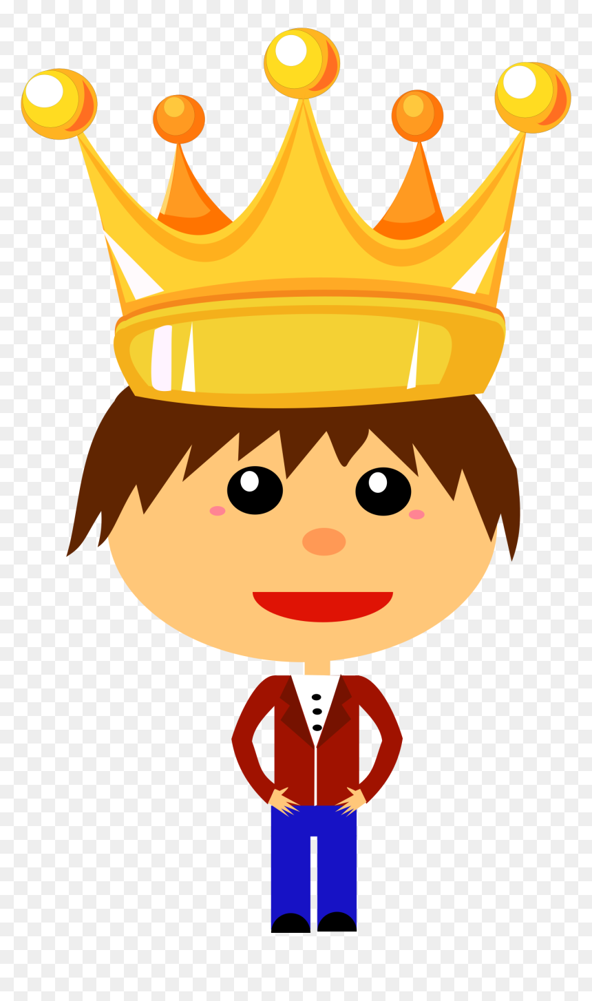 Boy With Crown Cartoon Hd Png Download Vhv Download this premium vector about golden monarchy crown isolated set, and discover more than 10 million professional graphic resources on freepik. boy with crown cartoon hd png download