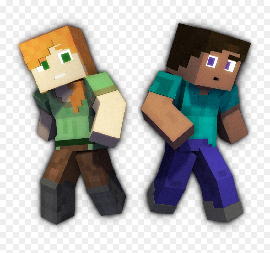 Alex And Steve Png Transparent Png Vhv