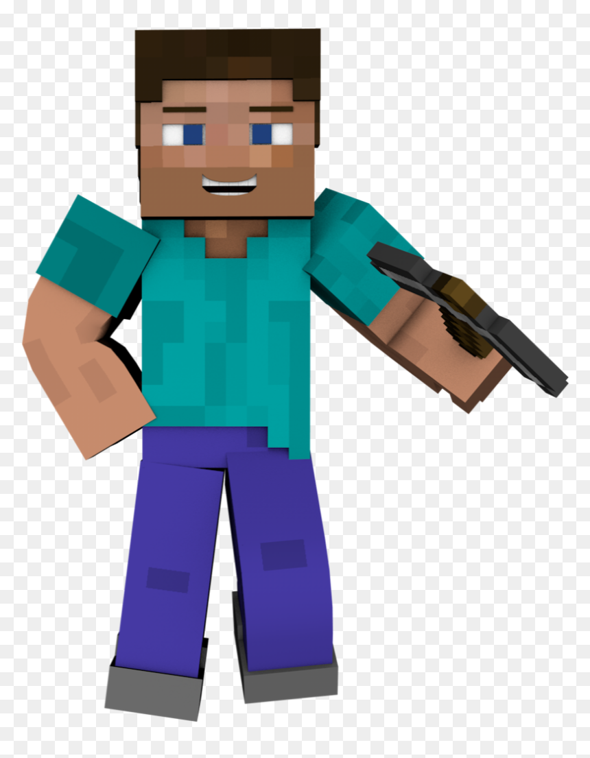 Minecraft Animated Skin Steve Hd Png Download Vhv