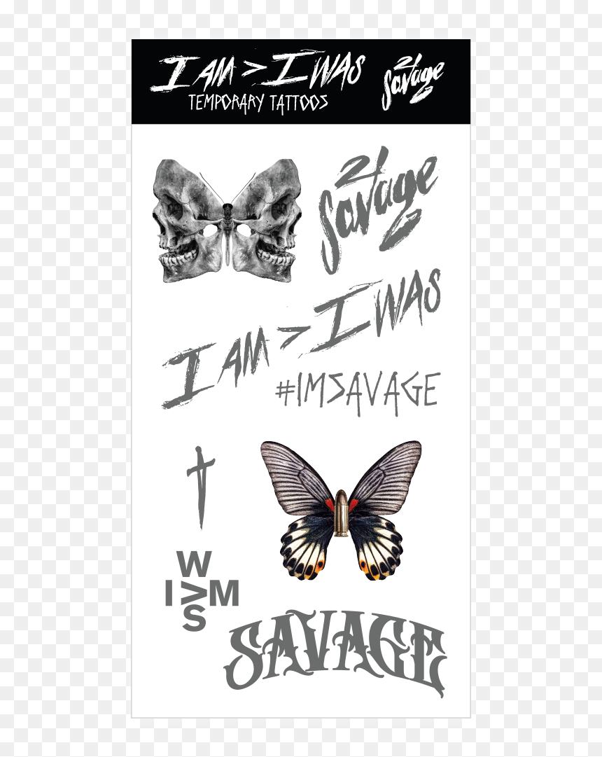 am i was tattoo 21 savage hd png download vhv was tattoo 21 savage hd png download