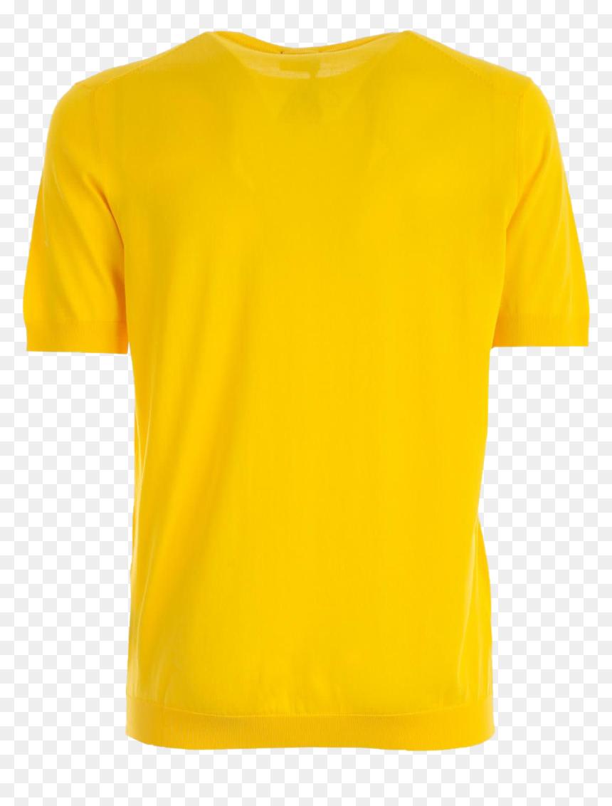 Plain Yellow T Shirt Transparent Image Yellow T Shirt Png Png Download Vhv