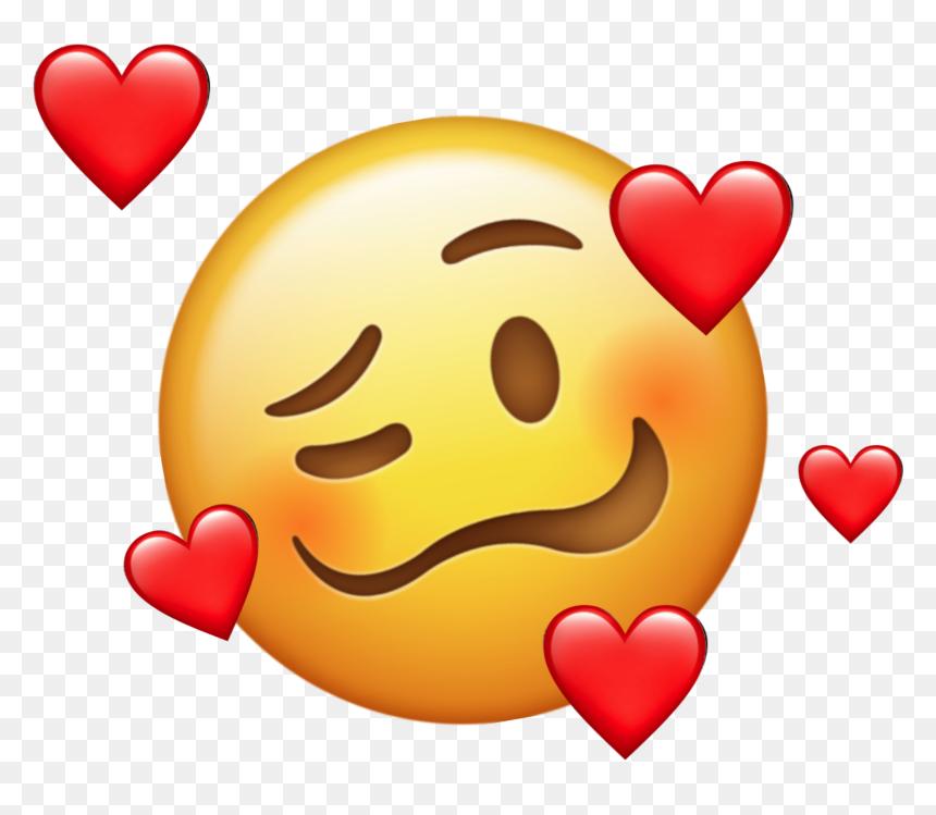 Emoji Aesthetic Tumblr Emojis Heart Smiley Hd Png Download