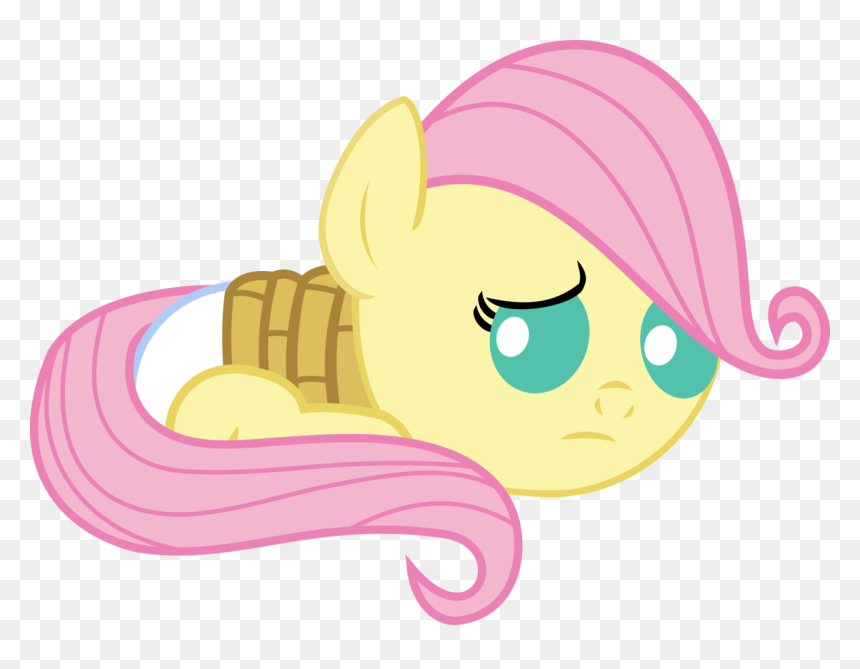 Artist Babyshy Baby My Little Pony Fluttershy Rope Hd Png Download Vhv