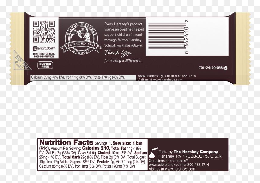 "Hershey""s Milk Chocolate - Nutrition"