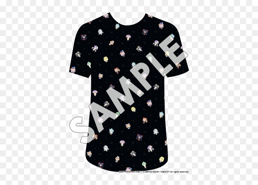 Neptunia Pixel Shirt Pattern Hd Png Download Vhv