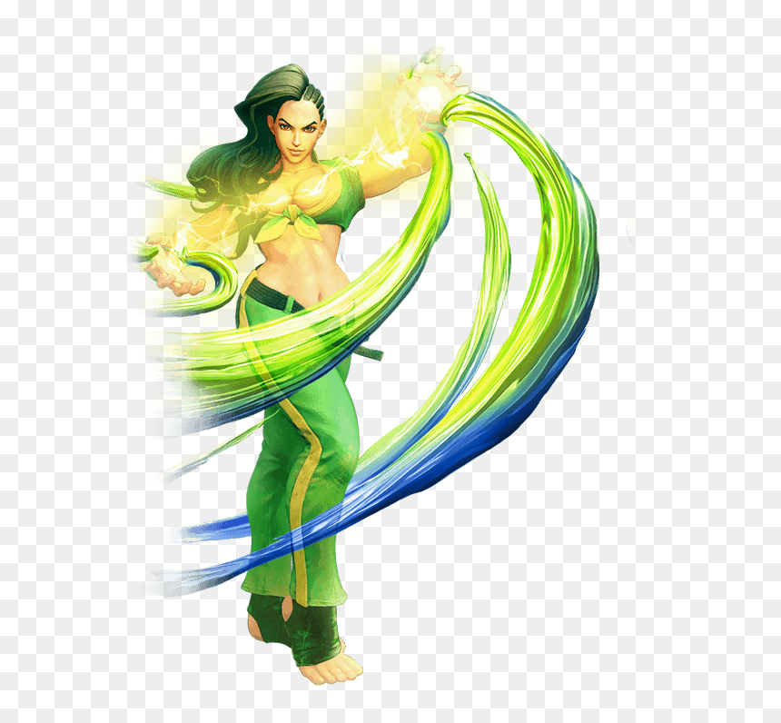 Street Fighter 5 Characters Laura Section 2 Two Column Laura